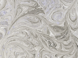 Marble abstract acrylic background. Nature beige marbling artwork texture. Golden glitter.