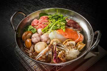 パクチー鍋 Vietnamese seafood coriander  hot pot