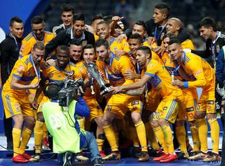 Football Soccer - Mexican First Division Final Second Leg -Monterrey v Tigres UANL