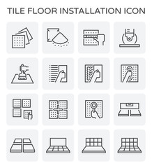 tile floor icon