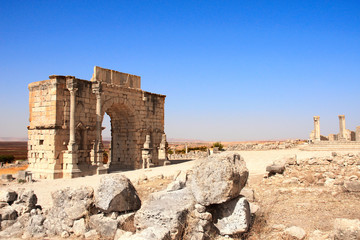 Arch of Caracalla, Volubilis, Morocco