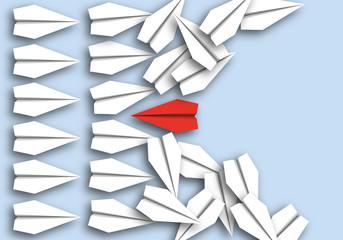 origami - concept - idée - attaquer - violent - symbole - avion de papier - violence - conflit, violent,