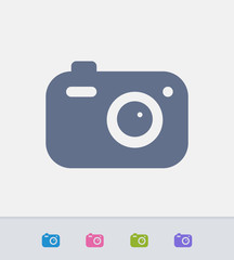 Digital Camera - Ants Icons . A professional, pixel-aligned icon.