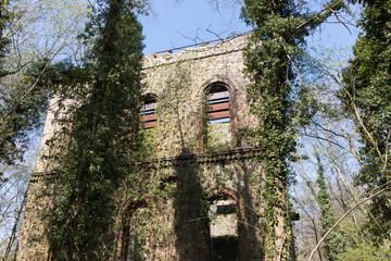 Alte Ruine am Piesberg, Osnabrück, Deutschland