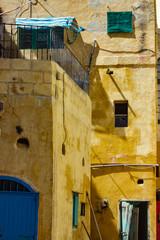 Fischerhäuser in dem Dorf Xlendi auf Gozo