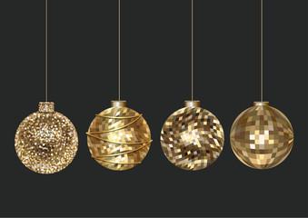 luxury glitter balls