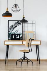 Simple start-up office interior
