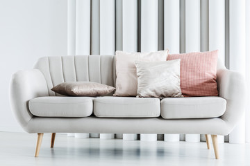 Close-up photo of couch