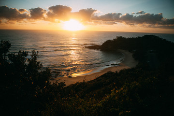 Sunrise in Australia