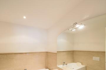 Elegant marble bathroom