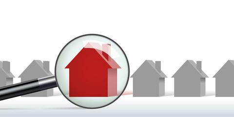 maison - habitation - immobilier - achat - propriété - concept - propriétaire - acheter - recherche - prêt