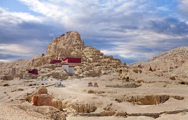 Tsaparang, the ruins of the ancient capital of Guge Kingdom and Tholing Monastery, Tibet