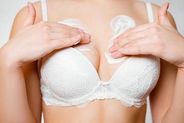 girl cream breasts
