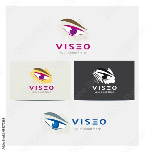 Logo Technologie Multicolore Icone Carte De Visite Et Charte Graphique Entreprise Plusieurs Couleurs