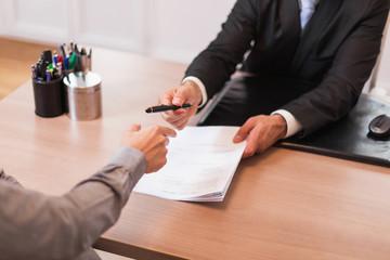Photo corporate avocat business signature contrat