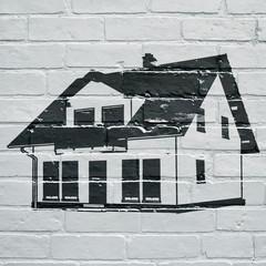 Graffiti, maison