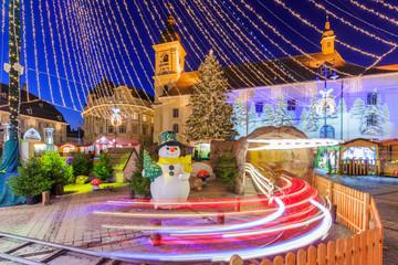 Sibiu, Romania. Christmas Market.