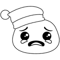 crying emoji face icon