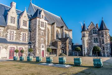 Château d'Angers, chapelle et porte