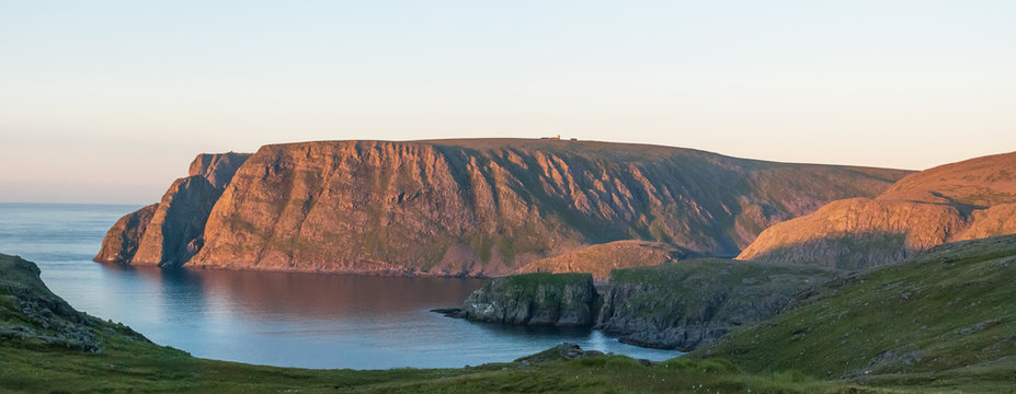 North Cape, the famous tourist attraction, Finnmark, Norway