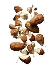 Pile of Broken Almonds