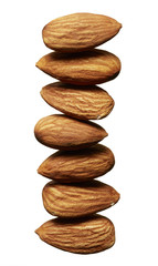 Stack of Almonds