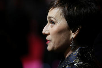 Actor Kristin Scott Thomas arrives at the UK premiere of Darkest Hour in London
