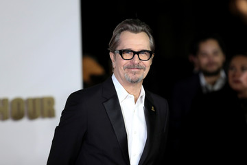 Actor Gary Oldman arrives at the UK premiere of Darkest Hour in London