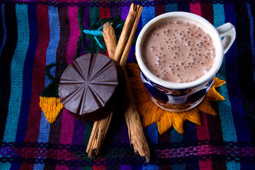 Canvas Prints Chocolate Mexican hot chocolate