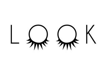 two eyelash extensions
