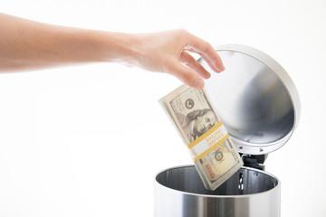 throwing away ten thousands dollars