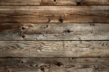 Old dark stained wood background