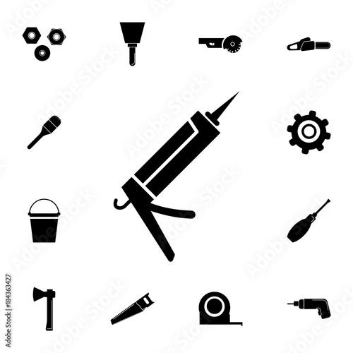 Glue Gun Icon Set Of Construction Tools Icons Web Icons Premium