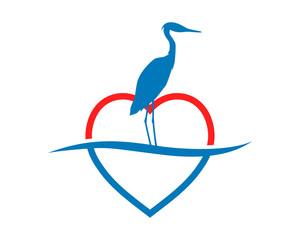 heart stork