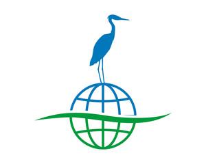 globe stork