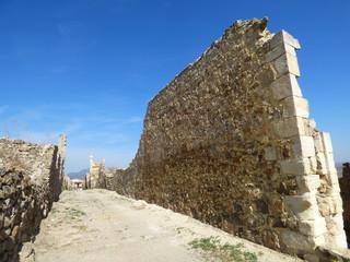 Moya en Cuenca. Villa historica de Castilla la Mancha (España)