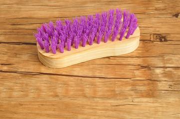 A scrub brush