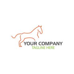 Horse logo.  illustration in vector format.