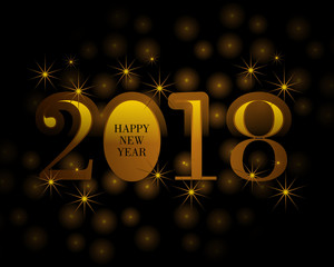 happy New Year 2018\