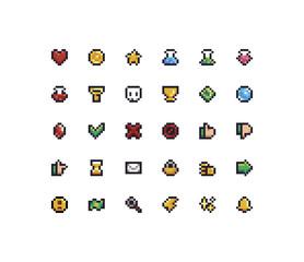 Pixel Art Icons