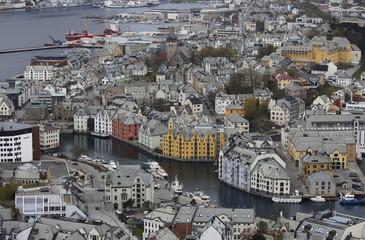 Norwegen, Norway, Ålesund