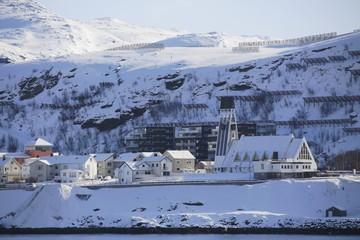 Norwegen, Norway, Hammerfest, Kirche
