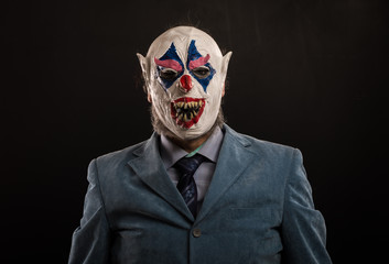 The Scary Clown Mask