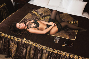 Sexy woman in beautiful lingerie