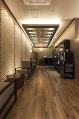 hotel massage room interior in seoul, korea.