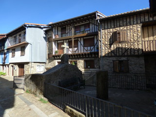 Monforte de la Sierra en Salamanca, pueblo de la comunidad autónoma de Castilla y León (España)