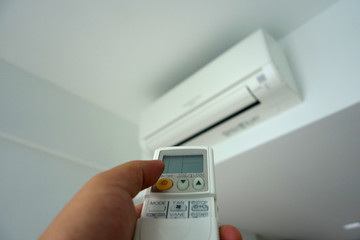 Turning on of air conditioning