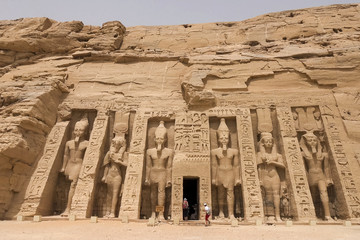 Statues of other Egypt. With the temple monuments megaliths.