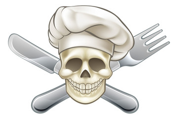 Knife and Fork Pirate Chef