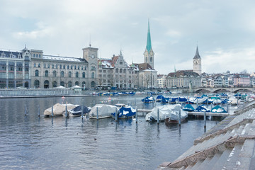Zürich im Winter